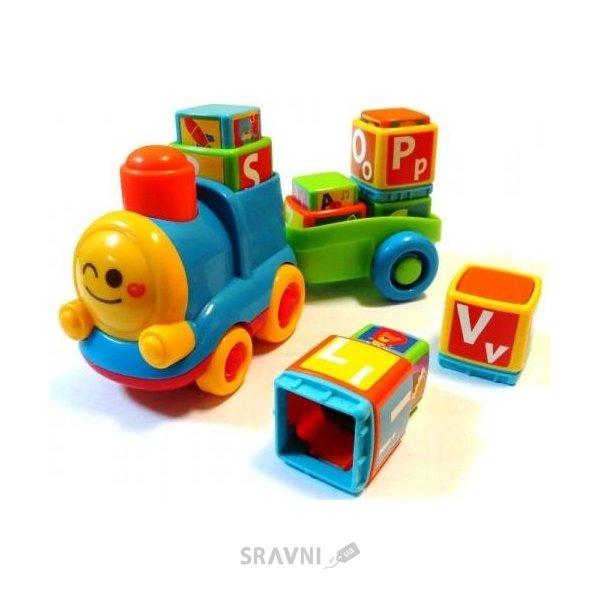 Фото BKids Поезд-алфавит (04357)