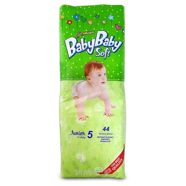 Фото BABYBABY Soft Premium Junior 5 (44 шт)