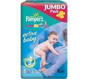 Фото Pampers Active Baby Maxi Plus 4+ (62 шт.)