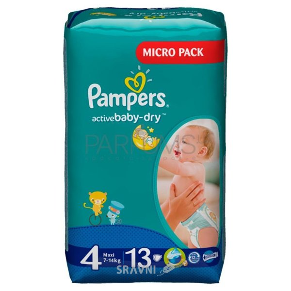 Фото Pampers Active Baby Maxi 4 (13 шт.)