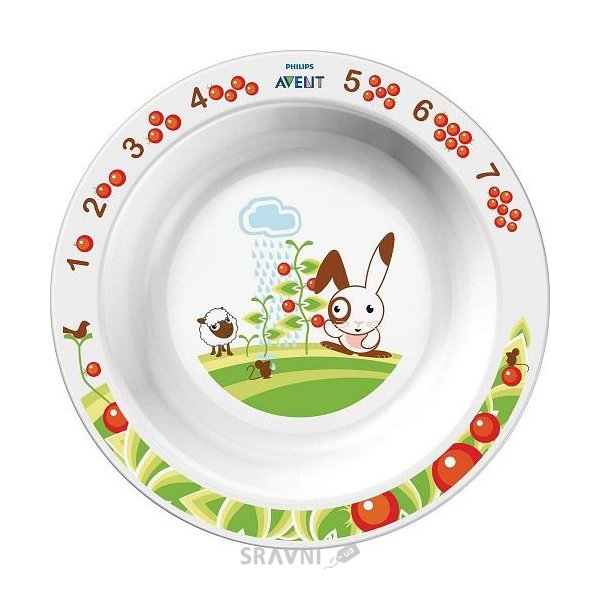 Фото Philips Большая тарелка 12 мес+ (SCF704/00)