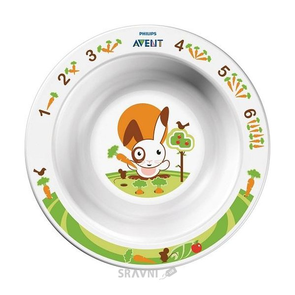 Фото Philips Маленькая тарелка 6 мес (SCF706/00)