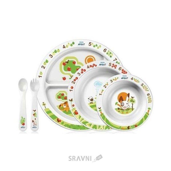 Фото Philips Детская посуда (SCF716/00)