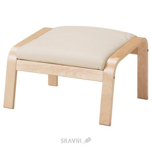 Фото IKEA POANG Табурет для ног (098.305.41)