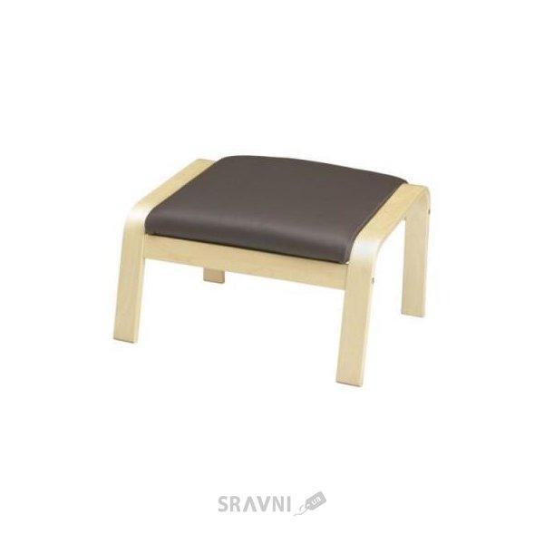 Фото IKEA POANG Табурет для ног (598.291.11)