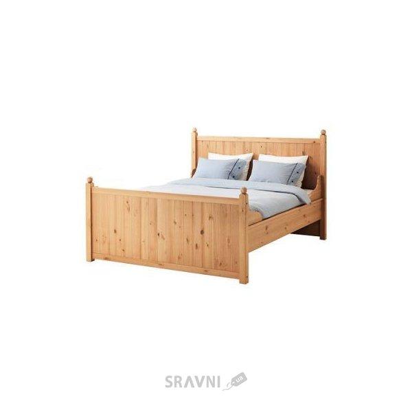 Фото IKEA HURDAL Каркас 160x200 и LEIRSUND основа под матрас (890.273.22)