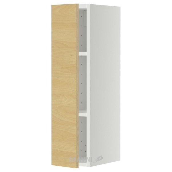 Фото IKEA METOD Шкаф навесной с полкой, белый 20x80 (099.286.32)