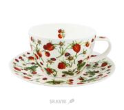 Фото Dunoon Dovedale sberry чашка для завтрака с блюдцем 450мл (18444)