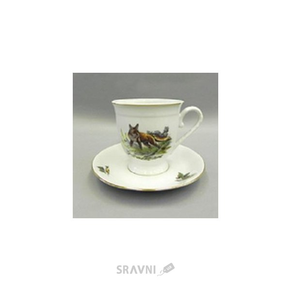 Фото Leander Чашка с блюдцем высокая Мэри-Энн 36120417-0363 330 мл