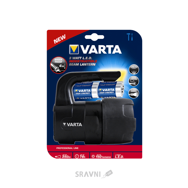 Фото Varta Professional Line Indestructible 3W LED Lantern 4C