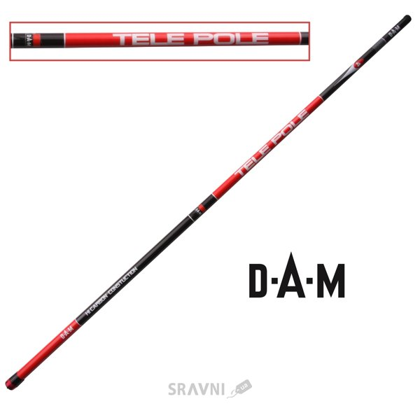 Фото DAM Carbon Tele-Pole 5.00m