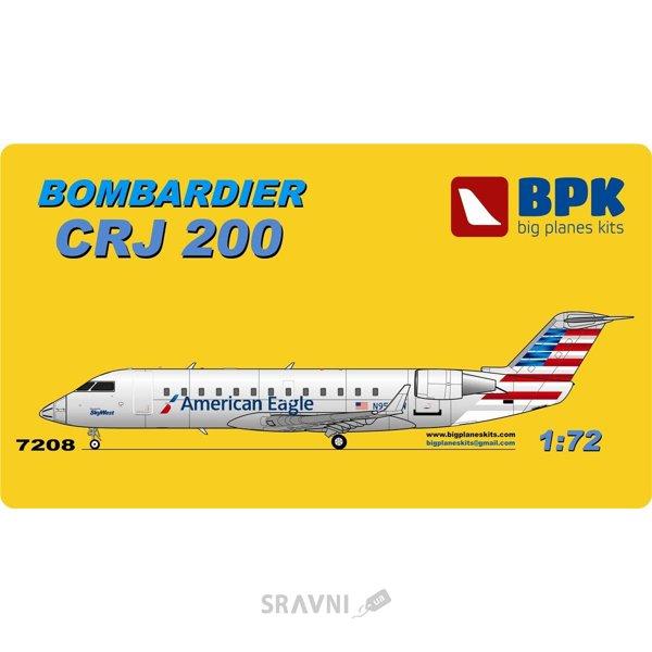 Фото BIG Пассажирский самолет Bombardier CRJ 200 American Eagle (BPK7208)