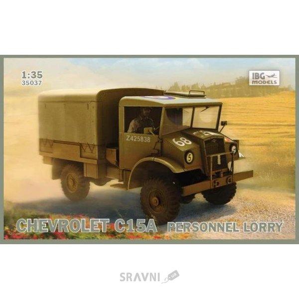 Фото IBG Models Военный грузовик Chevrolet C15A (IBG35037)