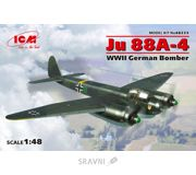 Фото ICM Немецкий бомбардировщик Ju 88A-4 (48233)