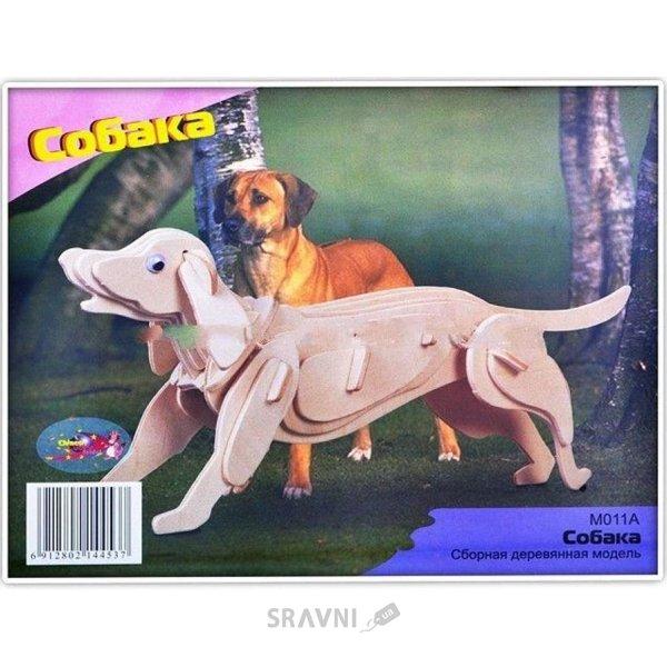 Фото Мир деревянных игрушек Собака (М011)