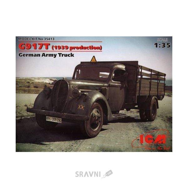 Фото ICM Немецкий армейский грузовик G917T (1939 production) (35413)