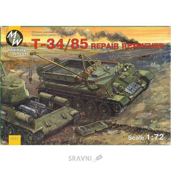 Фото Military Wheels T-34-85 Soviet WWII repair retriever (MW7211)