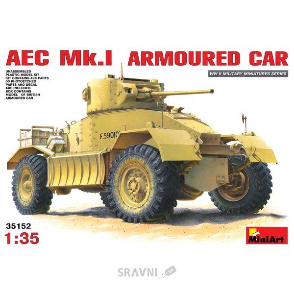 Фото MiniArt Британский бронеавтомобиль AEC Mk.I (MA35152)