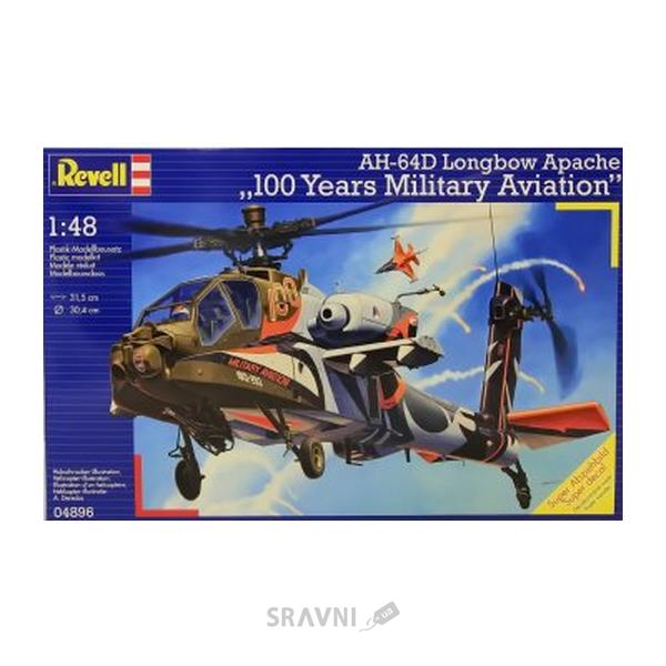 Фото Revell Вертолет 1/48 AH-64D APACHE 100-MILIT. (RV04896)