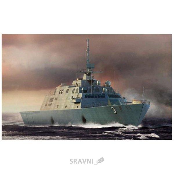 Фото Trumpeter Американский боевой корабль прибрежной зоны Fort Worth LCS-3 (TR04553)