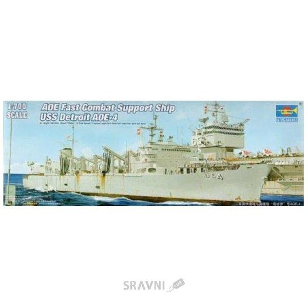 Фото Trumpeter Боевой корабль США Детроит AOE-4 (TR05786)
