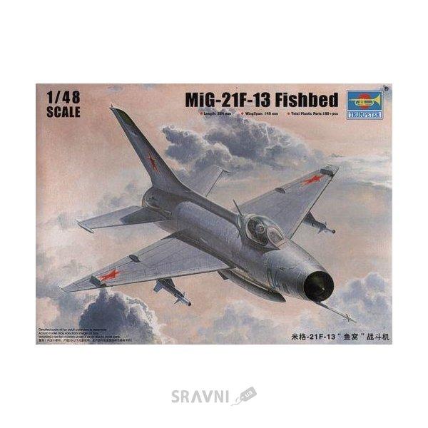 Фото Trumpeter Фронтовой истребитель Mig-21F-13 Fishbed (TR02858)