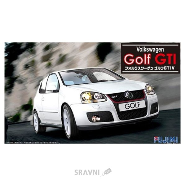 Фото Fujimi Автомобиль Volkswagen Golf GTI V (FU123158)