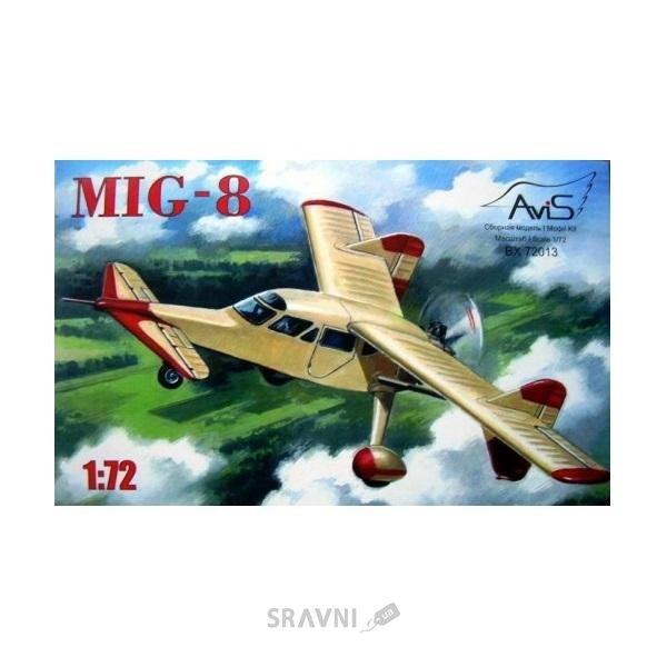 Фото AVIS Советский экспериментальный самолет МиГ-8 (AV72013)