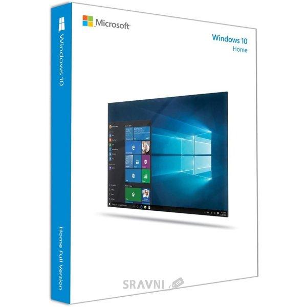 Фото Microsoft Windows 10 Домашняя 32 bit Английский (коробочная версия) (KW9-00185)