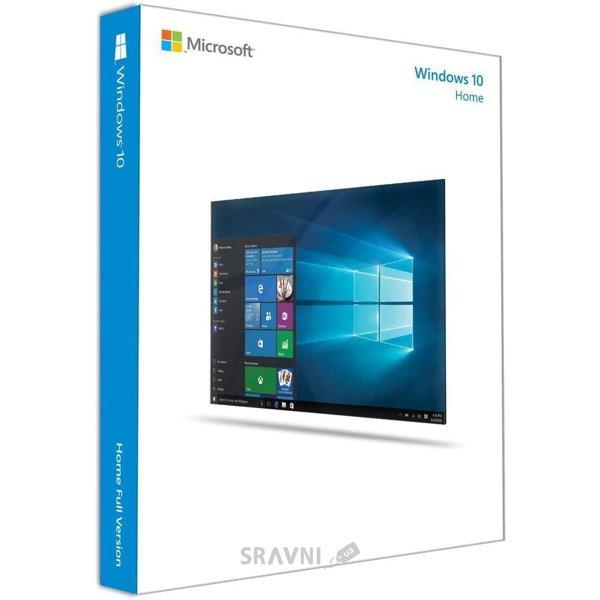 Фото Microsoft Windows 10 Домашняя 32/64 bit Русский (коробочная версия) (KW9-00254)