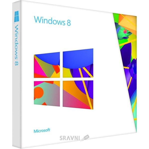 Фото Microsoft Windows 8 32/64 bit Русский VUP Upgrade (коробочная версия) BOX (3ZR-00032)