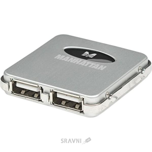 Фото Manhattan Hi-Speed USB 2.0 Micro Hub 160605