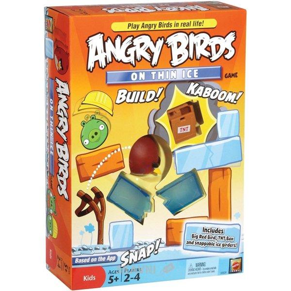 Фото Mattel Angry Birds На тонком льду (X3029)
