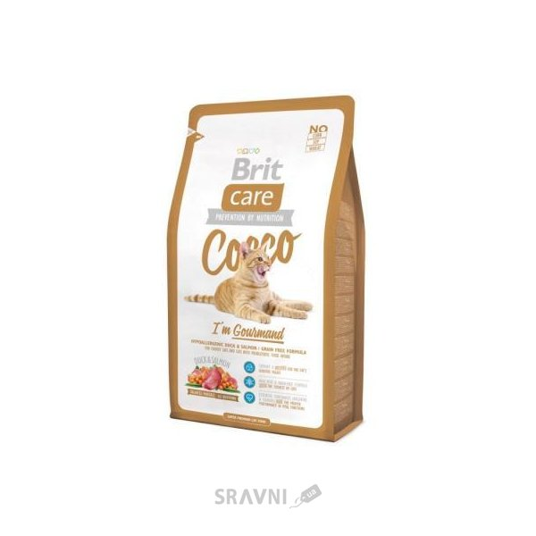 Фото Brit Care Cat Cocco I'm Gourmand 0,4 кг