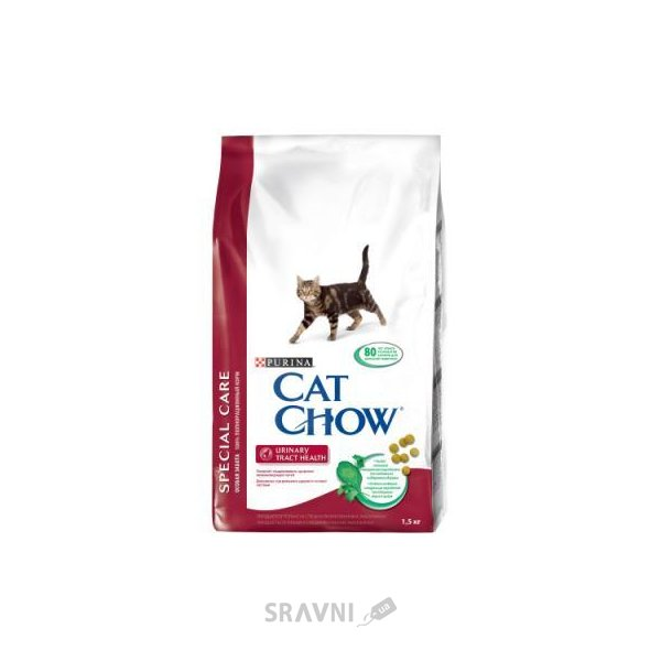 Фото Cat Chow Special Care Urinary Tract Health 1,5 кг