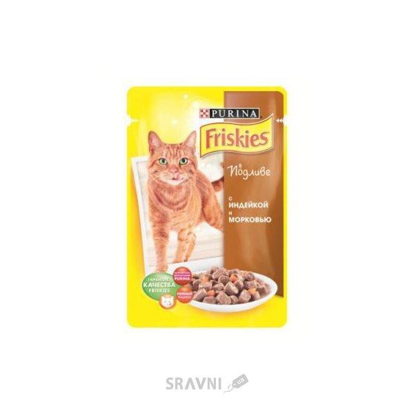 Фото Friskies Консервы С индейкой и печенью в подливе 0,1 кг