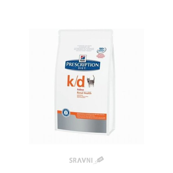 Фото Hill's Prescription Diet Feline k/d 0,4 кг