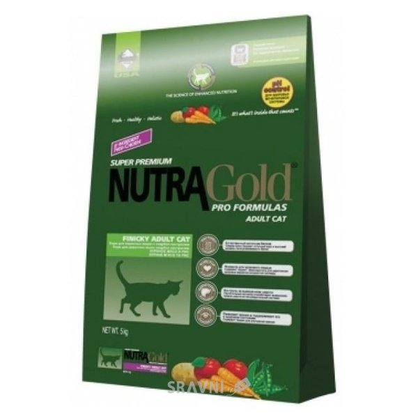Фото NutraGold Hairball Adult 5 кг