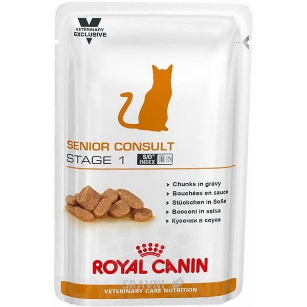 Фото Royal Canin Senior Consult Stage 1 WET 0,1 кг