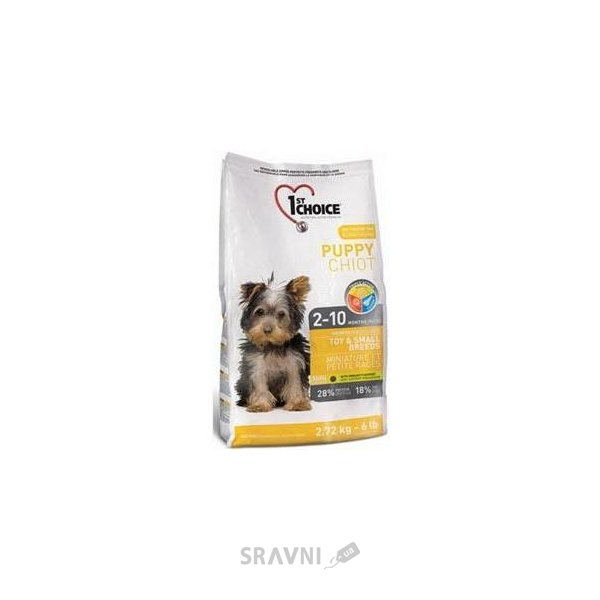 Фото 1st CHOICE Puppies Toy & Small Breeds Chicken 2,72 кг