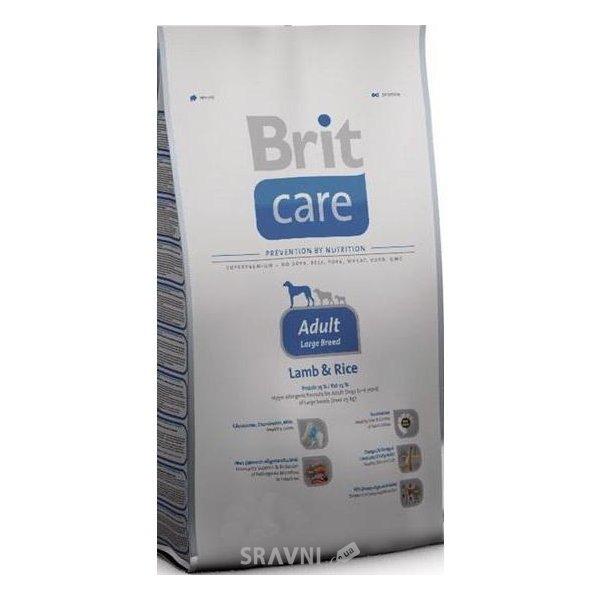 Фото Brit Care Adult Large Breed Lamb & Rice 1 кг