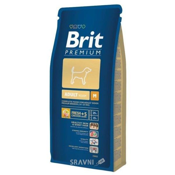 Фото Brit Premium Adult M 1 кг