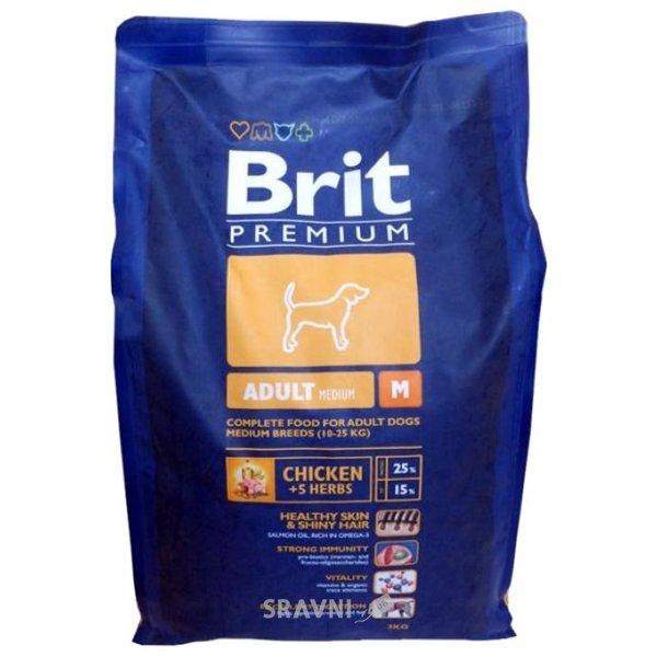Фото Brit Premium Senior M 3 кг