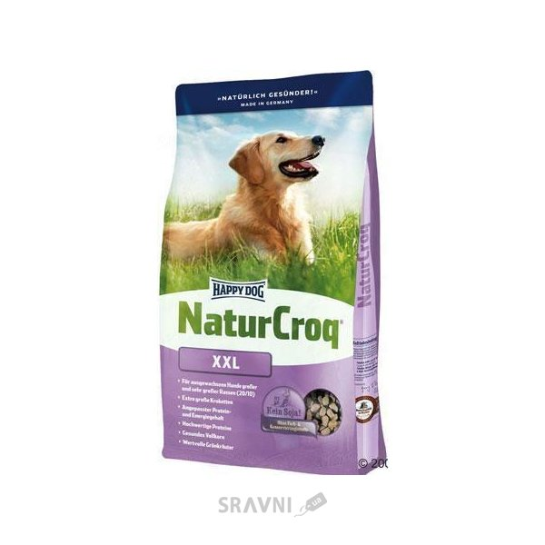 Фото Happy Dog NaturCroq XXL 15 кг