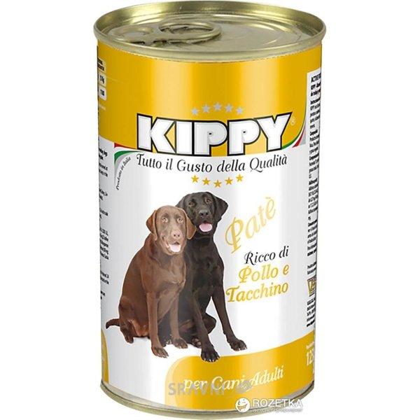 Фото KIPPY Консервы для собак с курицей и индейкой 1250 г