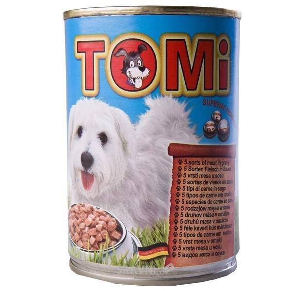 Фото TOMi Консервы 5 видов мяса в соусе 1,2 кг