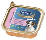 Фото Butcher's Gastronomia Junior паштет с курицей и ягненком 150 г