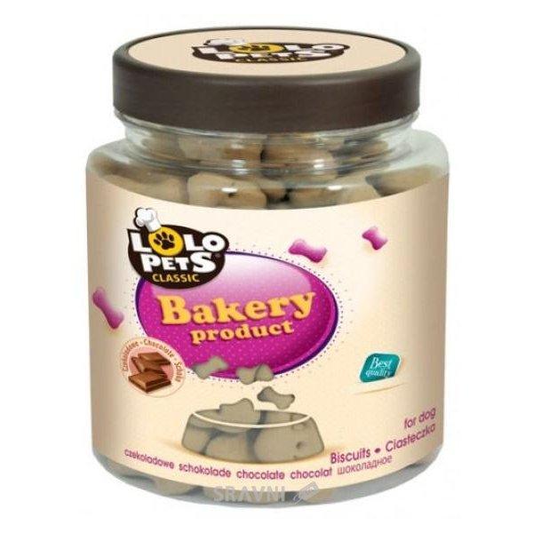 Фото Lolo Pets Classic Biscuits со вкусом шоколада 210 гр