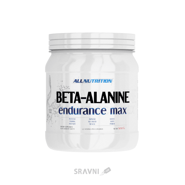 Фото All Nutrition Beta-Alanine Endurance Max 500g (125 servings)