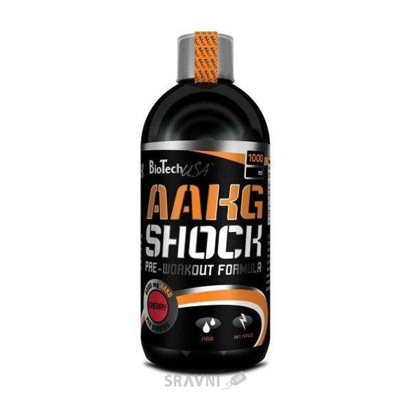 Фото BioTech AAKG Shock 1000ml (40 servings)